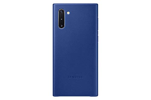 Samsung EF-VN970 - Cover in pelle per Galaxy Note 10, colore: Blu