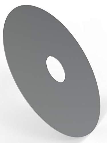 ELITE BBQ 5mm 100er Feuerplatte 100cm Feuerring Grillplatte Stahlplatte für Feuertonne Stahlfass Weber Rößle Napoleon Grill…