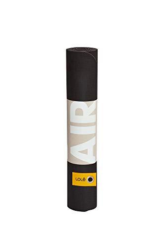 LOLË LAW0749BLACKO/S Lole Air - Esterilla de yoga y pilates, color negro, talla única