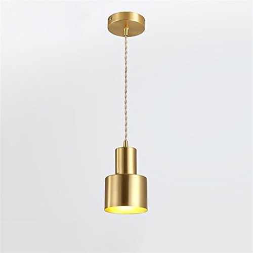 Accesorio de iluminación Postmoderno Simplicidad Mini luz colgante E26 / E27 Lámpara de bombilla de la bombilla de la bombilla de la bombilla del colgante del colgante del colgante del cable de luz