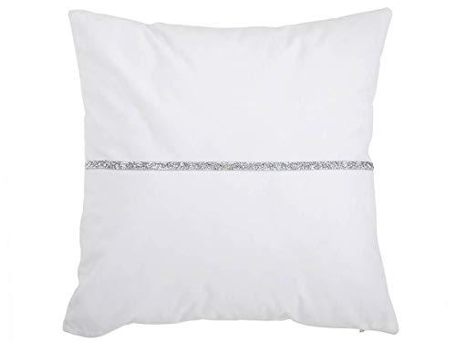 Antilo - Funda de Cojín Capri 30x50 cm - Color Blanco