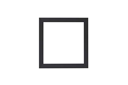3D Deep Box Frame Range Bilder/Foto/Posterrahmen – mit Einer MDF-Rückwand – fertig zum Aufhängen oder Aufstellen – matt dunkelgrauer Rahmen – A4