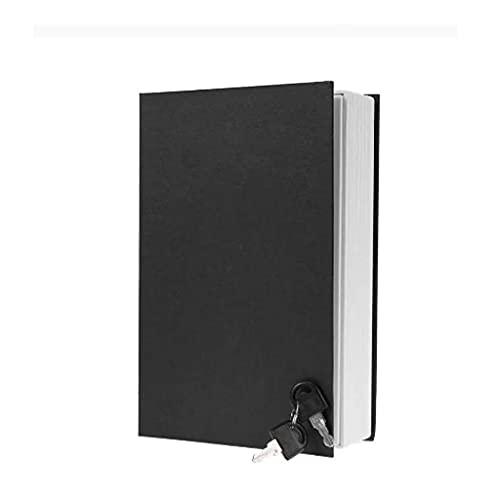 GPWDSN Caja de Ahorro en Forma de Diccionario de inglés Creativo Caja de depósito Seguro con Caja de Ahorro de Moneda en Efectivo con Llave