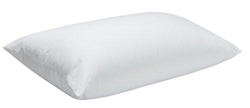 Pikolin Home - Guanciale in fibra, Fodera con cerniera antiacaro, 100% cotone, fermezza alta, 40 x 75 cm, altezza 20 cm. Tutte le misure