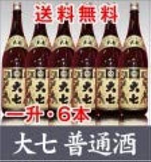 6本セット 大七 普通酒 生もと造り」1800ml 福島県限定発売酒