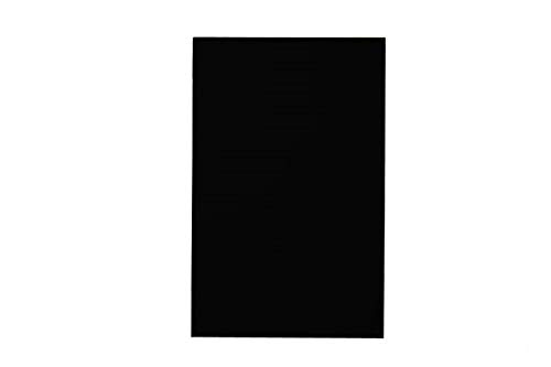 "RiteCo 15203 Posterboard/Railroad Board, 4-Ply, 22"" x 28"", Black (Pack of 25)"