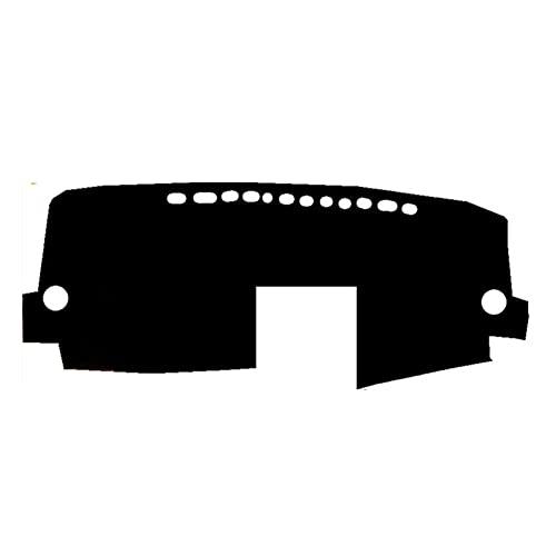 DkelBA Cubierta Interior para salpicadero de Coche, Alfombrilla para salpicadero, cojín para Alfombra, Parasol, Almohadilla para salpicadero, Estilo de Coche, para Toyota Avensis 2005 2006