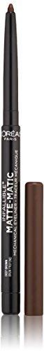 L'Oreal Paris Infallible Matte-Matic Mechanical Eyeliner, Deep Brown, 0.01 oz.