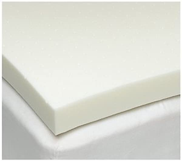 Full Double 4 Inch ISoCore 2 0 Memory Foam Mattress Topper American Made