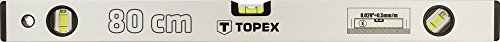 Topex 29C303 aluminium waterpas geanodiseerd 80 cm
