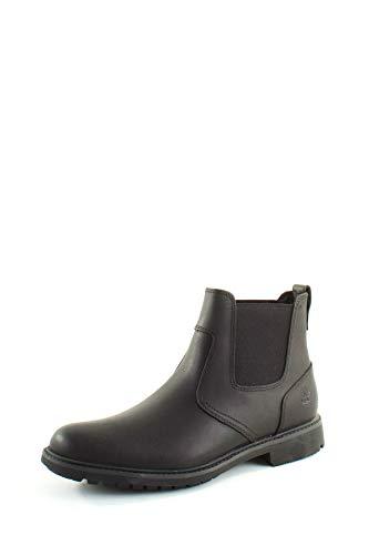 Timberland Men's Stormbucks Chelsea Boots, Black Smooth, 7.5 UK 41.5 EU