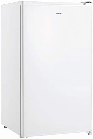 FRIGORIFICO INFINITON FG-151 A+/F 92 Litros - Alto 85cm (Frigorifico una puerta, Luz interior LED, 2 Estantes de cristal, Termostato Regulable, Cajon Verdulero)