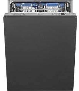 SMEG STL67339L - Lavavajillas integrable, 13 cubiertos - 42 dB (A) - 9 l/ciclo - Clase energética A+++ - Cajón de cubiertos FlexiDuo - Planetarium - Bisagras Flexifit - Inverter motor