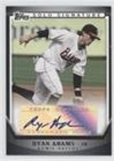 Ryan Adams (Baseball Card) 2011 Topps Pro Debut - Solo Signature Autographs - [Autographed] #SSA-RA