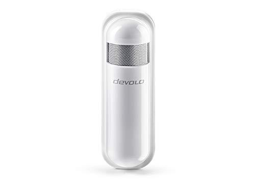 Devolo Home Control innen Sensor Humidity Sensor freistehend kabellos–Temperatur- und Feuchtigkeitssensor (CR 123A, 3V, 19mm, 81mm, 117mm,-10–40°C)