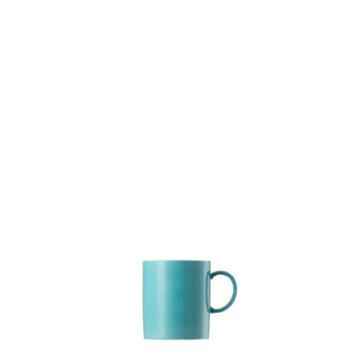 Thomas Rosenthal Sunny Day Becher mit Henkel - Kaffeebecher - Turquoise - Türkis 300 ml