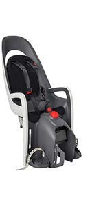 Product Image of the Hamax Caress Rear Child Bike Seat, Ultra-Shock Absorbing Rack Mount Fits Most...