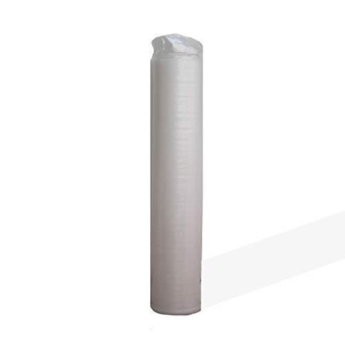 Base Aislante BASIC WHITE 3.0 de 3mm. 20m2. Para Tarima y Parquet ; Regula Desniveles. Incorpora capa antihumedad. 18kg/m3 PE Densidad. Manta Multiuso. 100% Ecológico. Super Ventas