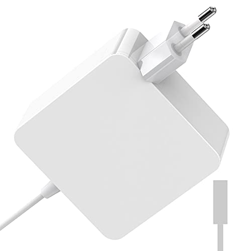 Caricatore per Mac Pro 60W L-Tip Adattatore per Mac Pro 13', Mac 13' A1344/A1330/A1342/A1278/A1185/A1184/A1181