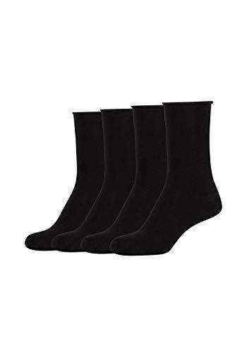 s.Oliver Socks Damen S20135002 Socken, Black, 39/42