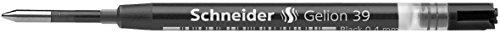 Schneider Schreibgeräte Gel-Tintenrollermine Gelion 39, Großraummine ISO-Format G2, schwarz