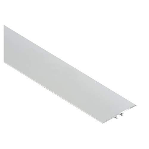 CEZAR W-AL-LWP35-C0-090 Schutzleiste/Übergangsschiene mit Dübeln flach 35mm, Silber