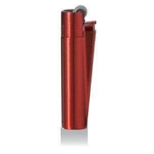 Clipper® Edition Metal Flint - Mechero con caja de metal, color rojo