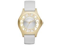 [マークバイマークジェイコブス]MARC BY MARC JACOBS レディース 腕時計 MBM1339 Henry White Dial White Leather Ladies Watch 471[並行輸入品]