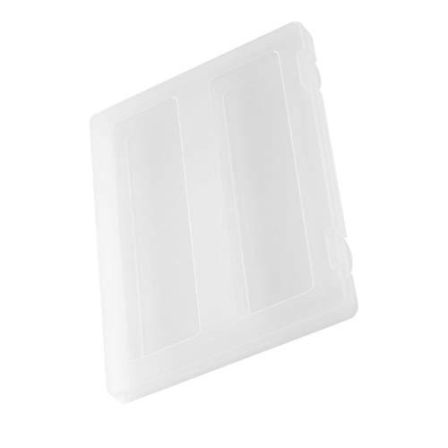 NUOBESTY Caja de Archivos A4 Estuche de Proyecto Portátil de Plástico A4 Organizador de Documentos Estuche Organizador de Almacenamiento de Documentos Soporte de Revista Transparente