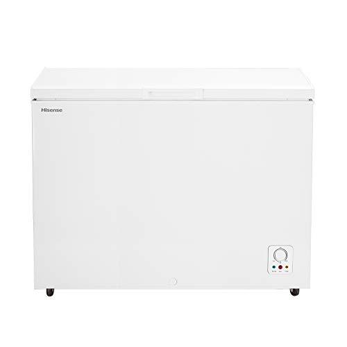 HISENSE FC403D4AW1 Congelatore a Pozzo 306 L di capacità, classe energetica A+. Dimensioni (L x P x A) 112,5 x 67,5 x 83 cm, Colore Bianco