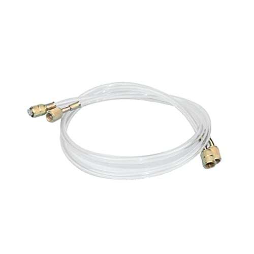 QWXZ Air Conditioning Parts Air Conditioning Tube High Pressure Pipe Refrigerator Liquid Adding Fluorine Hose Conditioner Accessories Car and durable (Color : Yellow)