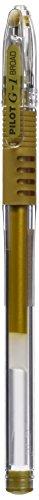 Pilot G11 - Penna roller con inchiostro gel, 1 mm, 12 pezzi, colore oro