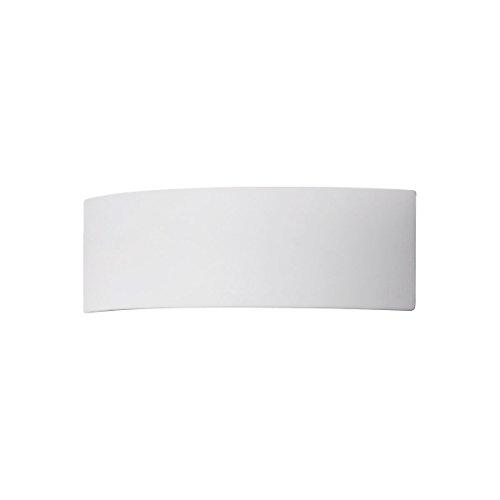 Austrolux 0291.61E A Applique Céramique Blanc 30 x 20 x 10 cm