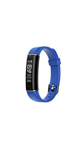 Sale!! XinHeChengMai Bluetooth Smart Sports Bracelet Calorie & Heart Rate Monitoring & Sleep Monitoring Waterproof Pedometer(Blue)