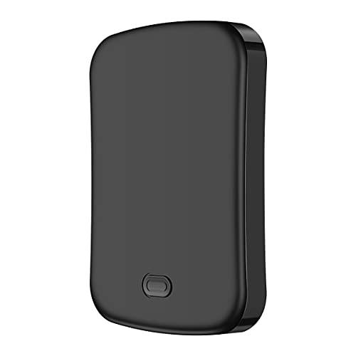 Banco de energía magnética 10000 mAh, 20 W, cargador rápido para teléfono móvil, apto para batería externa Mag-Safe, compatible con iPhone 13/13mini/pro/max/12 (10000 mAh, negro)