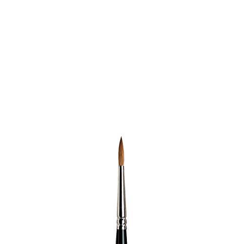 Winsor & Newton 5007003 serie 7 akvarellpenslar, Kolinski rund pensel nr 3 – 2,6 mm, kvalitet på handarbete