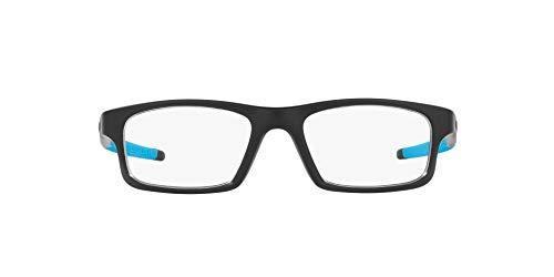 Oakley 0OX8037 Monturas de gafas, Satin Black, 52 para Hombre