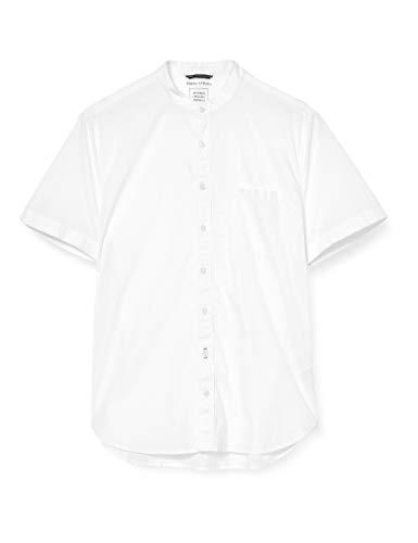 Marc O'Polo 24150841086 Camicia, Bianco (White 100), Medium Uomo