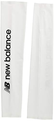 [ニューバランス] ランニングストレッチアームガード JAOR0657 メンズ WT(ホワイト) M