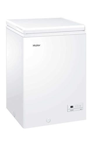 Haier HCE103R, Congelatore a pozzetto, 103 Litri,...