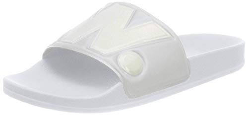 G-STAR RAW Cart Slide II, Chanclas Hombre, Blanco (White (White 110) 110), 45 EU