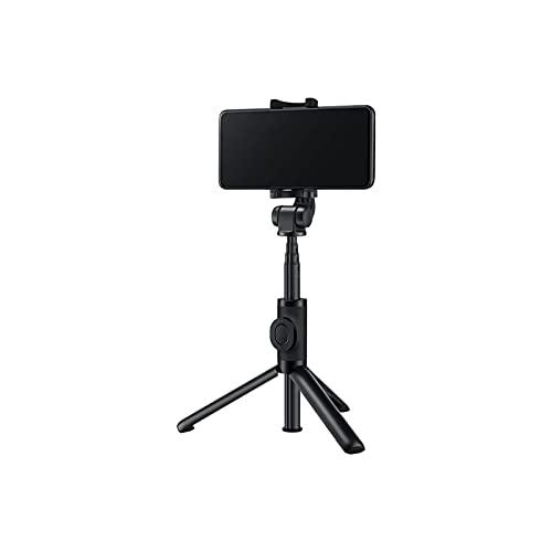 WGLL Treppiede Selfie Stick, Stick Selfie allungabile con remoto Senza Fili Rimovibile e Tappo del treppiede Stick (Nero)
