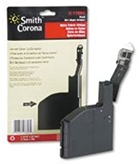 NEW SMITH CORONA OEM RIBBON FOR SMITH 'C' SERIES - 1-BLACK FABRIC RIBBON (Printing Supplies)