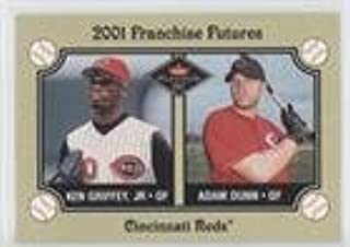 Adam Dunn; Ken Griffey Jr. (Baseball Card) 2001 Fleer Platinum - [Base] #469