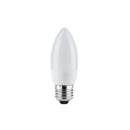 Ampoule éco en forme de bougie 7W-E27 blanc-chaud Paulmann