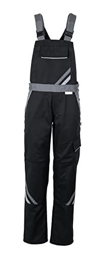 Planam Highline Damen Latzhose schwarz Schiefer Zink Modell 2719 Größe 38