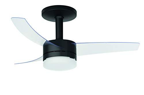 Ventilador de Teto Ultimate, Arno, Preto e Branco, 110V