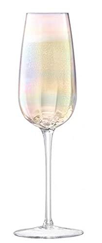 Chapa de estilo europeo Rainbow Ripple Ublet Wine Body Crystal Red Wine Champagne Flaute Home Bar Utensilios (Capacity : 301 400ml, Color : RAINBOW 250ml)