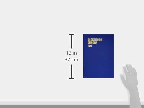 博文館手帳2021年A4マンスリーデスクブロックサンデー18ヵ月ブルーNo.239(2020年10月始まり)