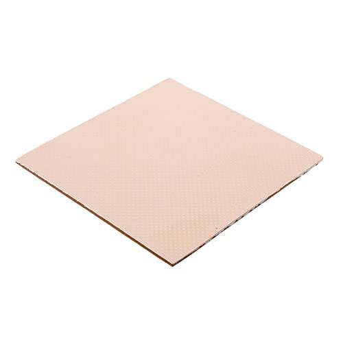 Thermal Grizzly - Thermopad Minus Pad 8 - Silikon, Selbstklebendes, Wärmeleitendes Wärmeleitpad. Es leitet Wärme und Kühlt die Heizelemente des Computers oder der Konsole. (100 × 100 × 2,0 mm)